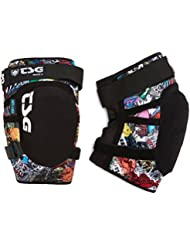 TSG KNEEGUARD Tahoe a Rodilleras, verano, unisex, color collage, tamaño extra-large