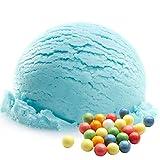 Kaugummi Bubble Gum Blau Geschmack 333 g Gino Gelati Eispulver für Ihre Eismaschine