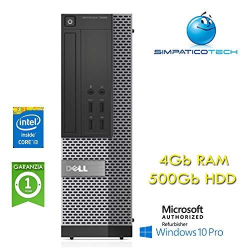 PC Dell Optiplex 7020 SFF Core i3-4160 3.6GHz 4GB 500 Gb DVD-RW Windows 10 Professional mit Simpaticotech MAR Microsoft Authorized Refurbisher (Nachbestellung)