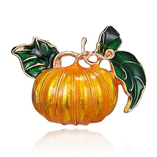 Y-XM 3*Brosche Kreative Kürbis Emaille Brosche Halloween Kostüm Accessoires Schmuck