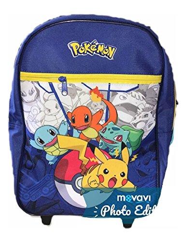 pokmon-pikachu-Mochila-infantil-Azul-azul
