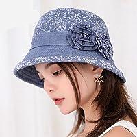 LTQ&qing Sombrero dama ocio salvaje sol sombrero mam¨¢ gorra , a , m (56-58cm)