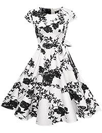 Vectry Kleider Damen Kleid Brautjungfernkleid Petticoat Lange Kleid Sommer  Jumpsuit Kurz Ballkleid Kleiderbügel… f47762c227