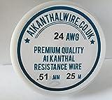 Kanthal A1 - resistencia alambre tipo DE (24AWG) 0,5 millimeter - 25 rhinocables - carrete 7,23 ohmios/M