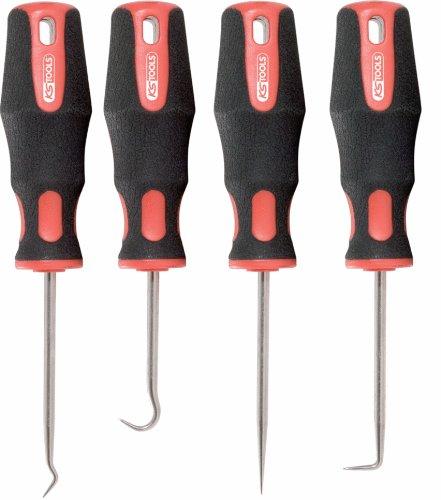 KS Tools Splintentreibersatz, hochglanz verchromt, 4-tlg