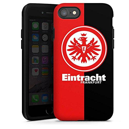 Apple iPhone 6 Tasche Hülle Flip Case Eintracht Frankfurt Fanartikel SGE Bundesliga Tough Case glänzend