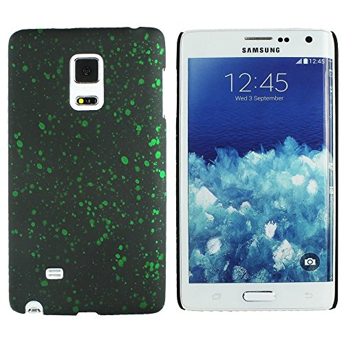 Heartly Night Sky Glitter Star 3D Printed Design Retro Color Armor Hard Bumper Back Case Cover For Microsoft Nokia Lumia 535 Dual Sim - Nature Green  available at amazon for Rs.109