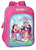 Mochila Escolar Enchantimals Fur Ever Besties 40cm Adaptable a Carro