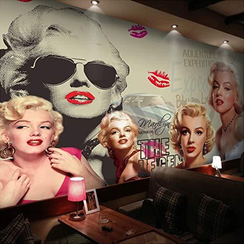 Ai Ya-bihua Custom Foto Wandbild Tapete Classic Movie Star 3D Poster Wand Malerei Schlafzimmer Wohnzimmer Hintergrund Tapeten Wohnkultur