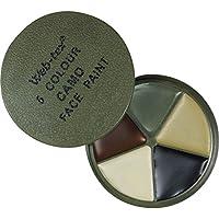 Web-Tex Multi terreno Pittura per il viso 5 colori con (Pittura Per Il Viso Disegni)