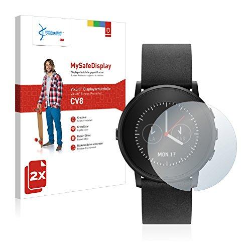 Vikuiti 2X Bildschirmschutzfolie CV8 von 3M kompatibel mit Pebble Time Ro& Schutzfolie Folie