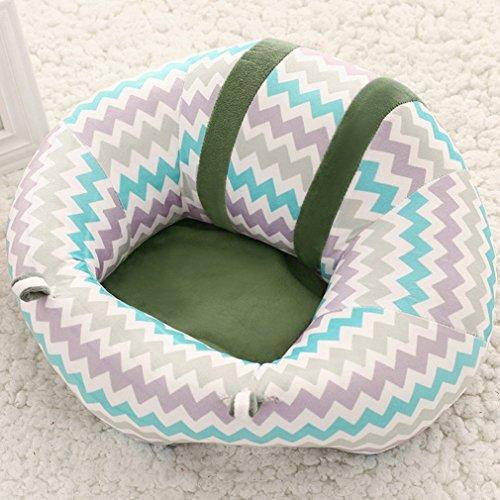 Tragbare Größe Bequeme Neugeborenen Baby Infant Baby Esszimmer Mittagessen Stuhl Sitz Sicherheit Baumwolle Plüsch Beine Fütterung Stuhl, mischfarbe -