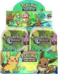 Pokémon POK81385 TCG: Kanto Friends Mini Lata (uno al Azar)