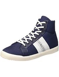 Bikkembergs Campus 737 M.Shoe M Fabric/Leather, Sandalias con Plataforma para Hombre
