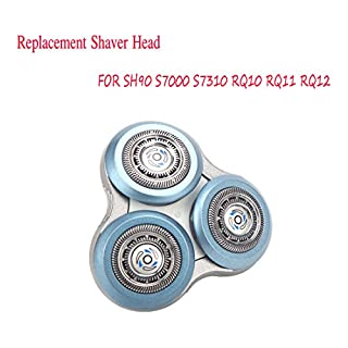 AFUT Rotary Cutting Head Replacement Shaver Head For Philips SH90 S7000 S7310 RQ10 RQ11 RQ12
