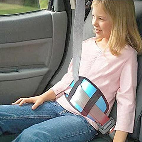 Junsi Children Car Safety Cover Shoulder Pad Harness Strap Adjuster Seat Belt Pads