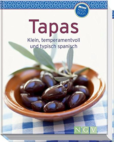 Preisvergleich Produktbild Tapas (Minikochbuch): Klein, temperamentvoll und typisch spanisch