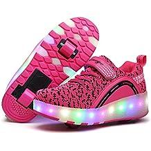 e03dbd5b5a880b Viken Azer-UK ❤❤❤Laufschuhe Sportschuhe Kinder Skateboard Schuhe  Kinderschuhe mit Rollen LED