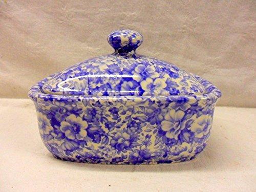 Blau Olde England Chintz Design Kollektion von Katie Alice - Chintz Butter