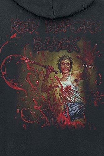 Cannibal Corpse Red Before Black Kapuzenjacke schwarz Schwarz