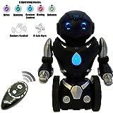 Robot de Juguete que se Balancea Solo a Control Remoto para Niños – Inteligente Robot RC Interactivo de ThinkGizmos (Marca protegida) (Negro y Plata)