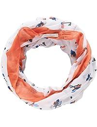 Tom Tailor Denim für Frauen Accessoire Schlauch-Schal mit floralem Muster
