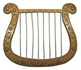 Harfe für Engel oder Troubadix Kostüm - Tolles Accessoire für Theater, Mottoparty oder Karneval