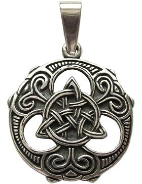 Triquetra-Knoten Anhänger Amulett Talisman Silber - Schutz und Zusammenhalt