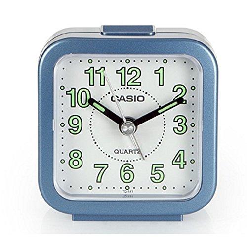 Casio Wake Up Timer Reloj Despertador, Azul, 6.40x3.40x6.70 cm