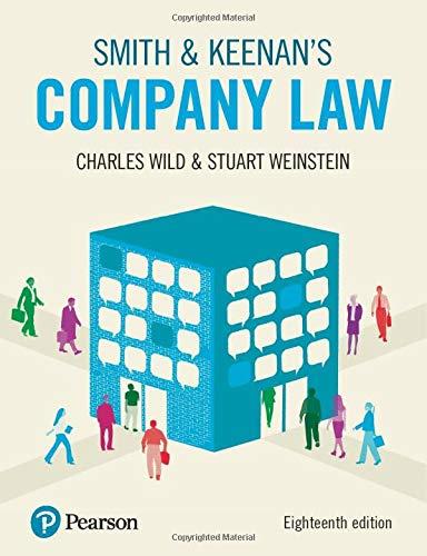 Smith & Keenan's Company Law