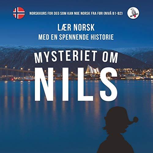 Mysteriet om Nils. Lær norsk med en spennende historie. Norskkurs for deg som kan noe norsk fra før (nivå B1-B2)