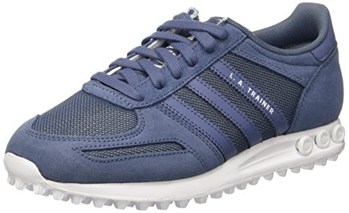 adidas La Trainer, Baskets Basses Femme Bleu (Tech Ink F6/Tech Ink/Ftwr White)