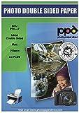 PPD DIN A3 Plus Inkjet Qualitäts Fotopapier für Tintenstrahldrucker beidseitig doppelseitig matt beschichtet 210g, DIN A3 Plus (330x483mm) x 50 Blatt PPD047-50