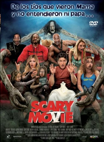 Combo: Scary Movie 5 (DVD + BD) [Blu-ray] 513Oz5baRDL