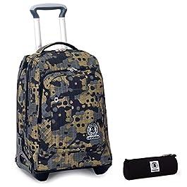 URBAN CLASSICS Triangle Weekender Black Borsa sportiva in pelle bag viaggio sacchetto ZIP