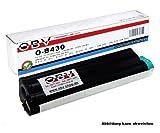 OBV B430 kompatibler Toner ersetzt OKI 43979202 , Kapazität 7000 Seiten , schwarz