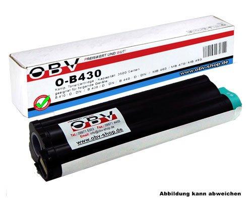 OBV B430 kompatibler Toner ersetzt OKI 43979202 , Kapazität 7000 Seiten ,...
