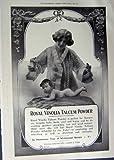 BÉBÉ 1912 ROYAL DE POUDRE DE TALC DE LA PUBLICITÉ VINOLIA