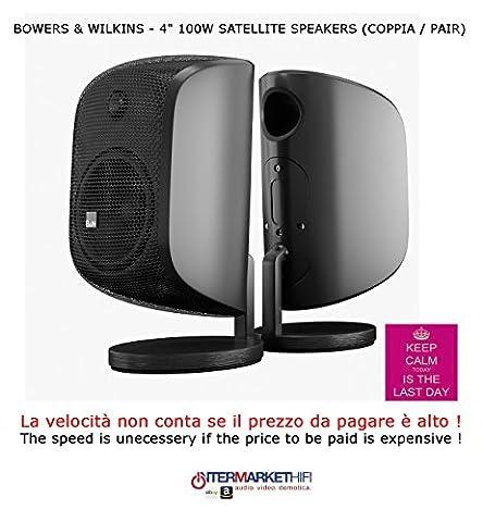 Bowers & Wilkins M-1100W 2-Way Surround Speaker Matte Black