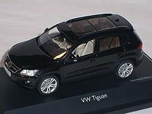 Schuco Vw Volkswagen Tiguan Suv Noir 1/43 Schuco Voiture Modèle Promotion