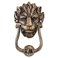 Design Toscano 10 Downing Street Lion Authentic Foundry Iron Door Knocker