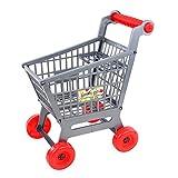 Sharplace Miniatur Beweglich Einkaufskorb Kinder Kaufladen Rollenspiel Spielzeug Zubehör - 27 x 19 x 30cm