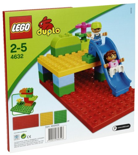 LEGO Duplo 4632 - Bauplatten-Set, 3-teilig