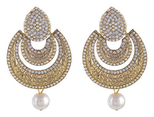 Firdaus Alloy Dangle & Drop Earrings for Women (E44)