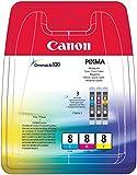 Canon 0621B026 CLI8 Inkcart  - Cyan/Magenta/Yellow