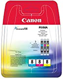Canon 0621B029 Tintenpatronen (3-er Pack; 3x13ml) cyan/magenta/gelb