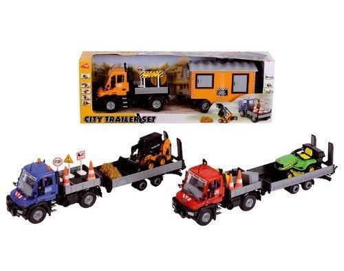 Smoby–3414860–Fahrzeug Miniatur–LKW Räume–Grün–46cm–Mini Schaufel und Zubehör (Miniatur-schaufel)