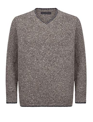 McLaughlin\'s Irish Shop Irischer Herren Pullover aus Wolle und Cashmere in Tweedoptik (M)
