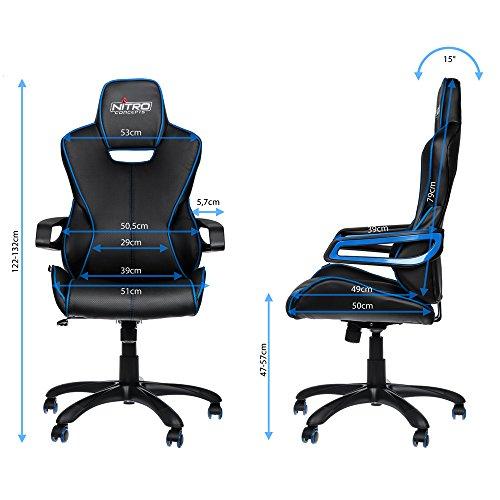 Nitro Concepts E200 Race - schwarz/blau