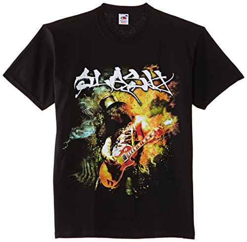 Slash - T-shirt, Uomo, Nero (Black), L
